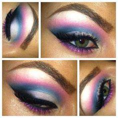 Sky Pink Eye Shadow #eyeshadow #makeup
