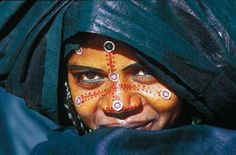 Africa   Tuareg woman dressed for a wedding   © Pascal Maitre, Cosmos.