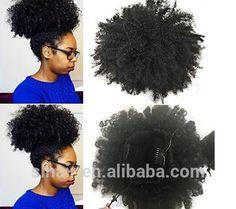 Source 2017 New Hot Product Black Fiber Hair Accessory Afro Hair Bun on m.alibaba.com