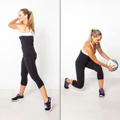Work your arms & legs with this efficient core toner