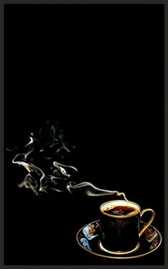 Coffee Cafe, Coffee Drinks, Coffee Shop, Coffee World, Or Noir, Gold Aesthetic, Black Wallpaper Iphone, Coffee Images, Good Morning Coffee