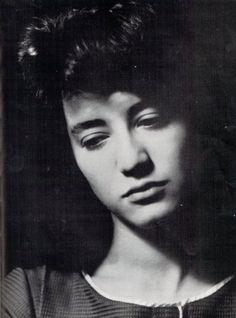 La pianiste Martha Arguerich, photographe inconnu.