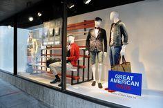 """""""GREAT AMERICAN DADS"""", Macy's NYC, pinned by Ton van der Veer"""