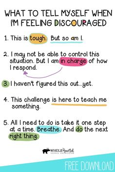 Teachers, Parents Can Use this FREE Growth Mindset & Coping Statements Poster With Students, Kiddos!