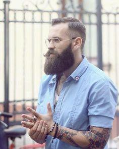PerFect #hot #beard_men325 #bearded #hairstyle #tattooed