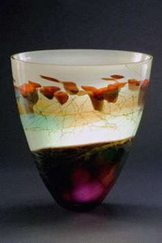 Main Glass Gallery; Steven E. Main and Karen Korobow-Main | Forest Vessel