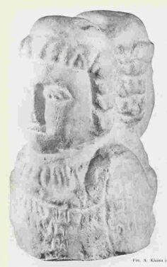 Swarożyc - Nowy Wiec na Pomorzu Gdańskim, poł. X wieku  // Slavic idol unearthed in Pomorze Gdańskie, Poland
