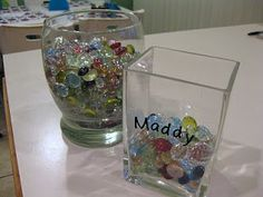"Gem Jars: rewarding positive behavior (""caught you being good!""). When your jar is filled with gems, you will earn a reward. Half-full jars will earn small rewards, and bigger rewards will come when your jars are totally full of gems."