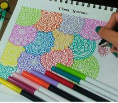 Doodle Art Designs, Art Drawings Simple, Art Journal Inspiration, Disney Art Drawings, Mandala Design Art, Art Inspiration Drawing, Marker Art, Doodle Art Journals, Sharpie Art