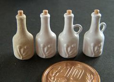 My world on the table: How to make miniature bottle