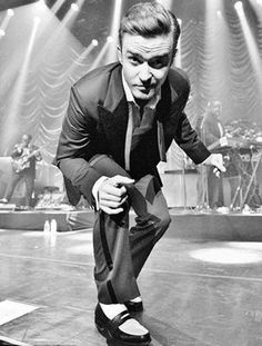 justin timberlake | As long as I got my suit and tie..