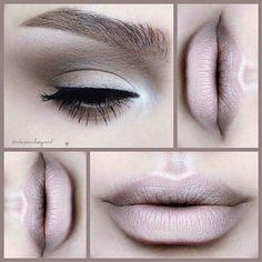 Makeup by depechegurl Lip Makeup, Makeup Brushes, Makeup Tips, Makeup Ideas, All Things Beauty, Beauty Make Up, Tinted Brow Gel, Pink Eyeshadow, Natural Eyeshadow