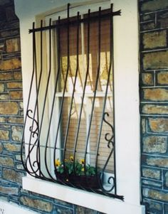 Window grills victorian joy studio design gallery best for Exterior window grill design
