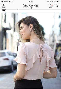 Carolina Herrera, One Shoulder, Ruffle Blouse, Blazer, Tops, Women, Sewing, Fashion, Short Sleeve Blouse