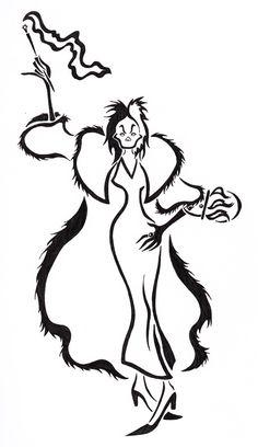 Cruella Deville by Zanture-Angel.deviantart.com on @deviantART