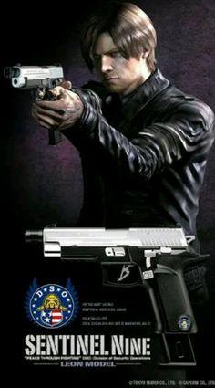 Resident Evil Nemesis, Resident Evil Franchise, Resident Evil Anime, Leon S Kennedy, Horror Video Games, The Evil Within, Bambi, Firearms, Character Art