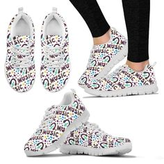 Just launched! Music is my life Womens Sneakers http://oompah.shop/products/music-is-my-life-womens-sneakers