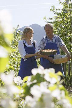 Die Apfelblüte in Südtirol - Roter Hahn, Urlaub auf dem Bauernhof