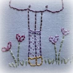 Friends hand embroidery pattern pdf