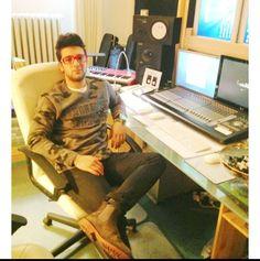 In the recording studio at last Piero Barone ⭐️IL VOLO⭐️