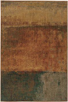 Oriental Weavers Kasbah 3937 Orange, Multi (B) Area Rugs