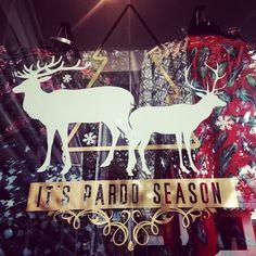 It's Pardo season. Vitrina de diciembre!  Be like Pardo! (at Pardo)