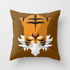 TigerMan Throw Pillow by SPARKcreative - $20.00