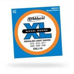D'Addario – EXL110 set elettrica 010-046. Per chitarra elettrica -Scalatura .010 -.046