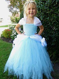 Cinderella Inspired Tutu Dress Cinderella by PoppiesnLaceBowtique