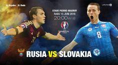 Prediksi Rusia Vs Slovakia 15 Juni 2015  Prediksi Rusia Vs Slovakia 15 Juni 2015, Rusia membidik tiga poin saat melawan Slovakia pada laga kedua Grup B Piala Eropa 2016, Rabu malam WIB (15/6/2016).  #PrediksiSpbo #PrediksiBola #PrediksiSkor #PialaEropa2016 #Euro2016 #Rusia #Slovakia