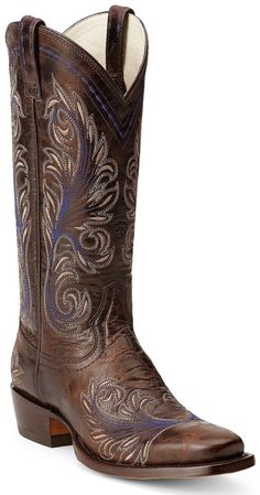 I'm in LOVE!!!!!                 Amazon.com: Ariat Women's Catalina Cowgirl Boot Square Toe: Shoes