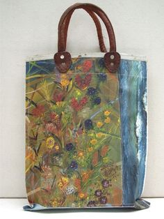 Swarm — Painting Bag - Fall Blooms (free shipping)
