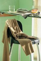 Stop hiding those damaged counter stools and recover them instead.
