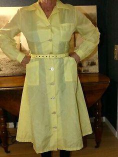 Nylons, Blouse Nylon, Staff Uniforms, Elegantes Outfit, Satin Blouses, Kawaii Clothes, Button Dress, Plus Size Lingerie, Overalls