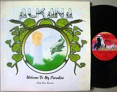 "ALKANA ""Welcome to Paradise""Baby Bird 1978.ex- WARLORD guys Jack Rucker & Southern California Guitar wizard Danny Alkana self released this Hard Rock classic w/tracks like ""Rock n' Roll Queen"" that rule like early VH - MAMMOTH & RANDY RHODES era QUIET RIOT.  Then an epic like ""The Tower""sounds like private label Rockers WHITE SUMMER (""From the Fjords"") or ASIA (""Armed to the Teeth"")!! ALKANA ""Welcome to Paradise""is killer '70s  Hard Rock!"