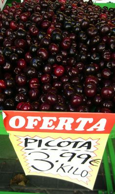 Ode to Picotas - because they're not just cherries!