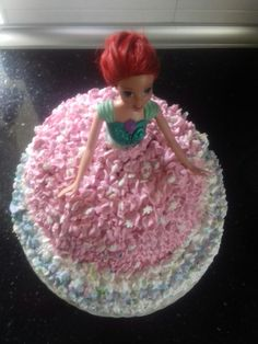 Tarta barbie Leonor❤
