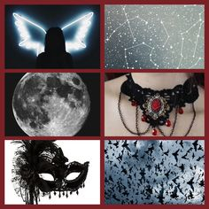 Mood board: creatures of the night (for character reference) #moodboard #dark #gothic #aesthetics #drawing #design