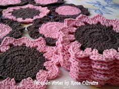 Tecendo Artes em Crochet: Tapetes