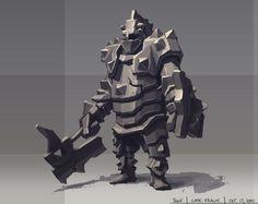 Tank, Gabe Kralik on ArtStation at https://www.artstation.com/artwork/ay9N9