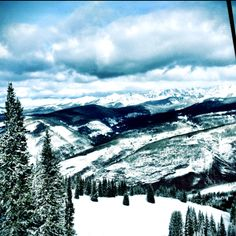 Vail, CO-- No matter what time of year you are there, Vail is always beautiful.