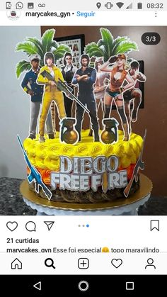 Festa do free fire Fire Party Ideas, Imagenes Free, Fire Cake, Tutu Cakes, Pastel, Gaming Wallpapers, Free Gems, Legos, Cake Toppers