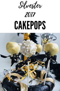 Ihr plant ein pompöses Silvester Buffet? Dann sind diese Cakepops perfekt! Champagner trifft auf Rose!