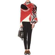 mytheresa.com - Wool and cashmere poncho - Capes & ponchos - Jackets - Clothing - Burberry Prorsum - Luxury Fashion for Women / Designer clothing, shoes, bags