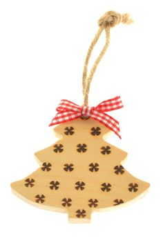 Pyrography Christmas tree decoration - £3.50 Wooden Christmas Tree Decorations, Christmas Ornaments, Holiday Decor, Metal Pins, Pyrography, Create, Handmade, Inspiration, Hand Made