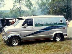 Custom 70's Ford boogie van..vk