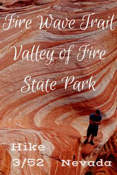 A Las Vegas Hike. Valley of Fire State Park was a beautiful hike in Nevada. Click to save for the next time you are there or read now to see what it was like.