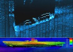 """American authorities announced discovery of German submarine U-576 from WWII & American merchant.Both sunk in Battle of Atlantic in 1942,in area called """"Graveyard of the Atlantic"""".Both wrecks found in August,48km off coast of North Carolina.220 meters from each other.NOAA says July 15,1942 sub attacked convoy of US merchant ships heading towards Florida.Bluefields,& 2 others badly damaged. A Kingfisher floatplane of US Navy then bombed submarine U-576.45 German sailors killed in the battle."""