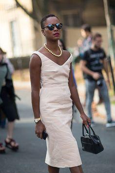 Street Style: Paris Fashion Week Spring 2014 - Shala Monroque