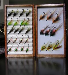 Selection of Hair Wing Salmon Flies tied by JF Molloy